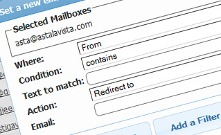 email manager filters